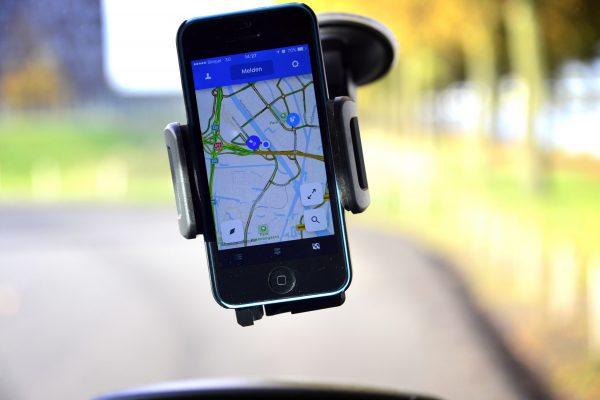 UTRECHT - Autorijden met navigatie rondom knoopunt Oudenrijn. COPYRIGHT TON BORSBOOM